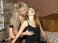 Amazing Medium Tits, Stockings porn video