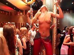 Horny pornstars Nataly DAngelo, Christina Lee and Belicia Avalos in best interracial, big tits sex scene
