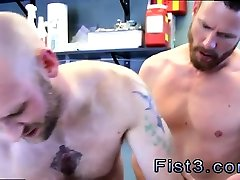 Hard core fisting gay porno First Time Saline Injection