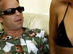 Sexy Dominica Leoni shares a massive hard dick with her girlfriend