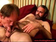 Amateur gay straight bears dick play