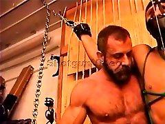 Built sexu mom pounds restrained dudes balls