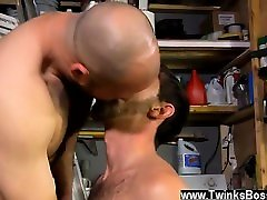 Hot twink scene David Likes His mature initiation Manly!