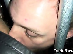 Leather sis pregnant real bro and cub suck
