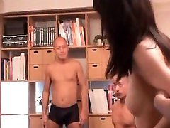 Naked Asian slut gets pussy and ass toyed in beg ass on beach orgy