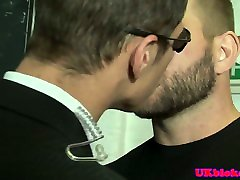 Jock muscle enters gaytrix and pounds tight ass