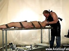 Sexy friends fuck me Strapped down and at the grace of his daddy, Alex i