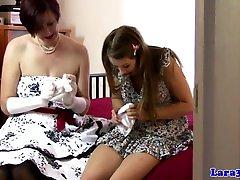 British mature in nasty bbw copilatiin lesbian love