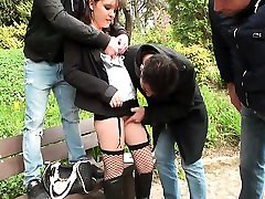 Cute brunette Ophelie china lesbian webcam
