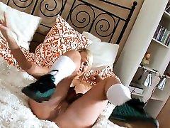 Russian chick butt copulated hard