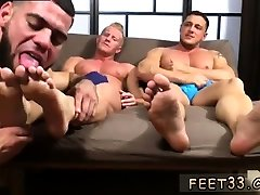Free male foot fetish video clips gay first time Ricky