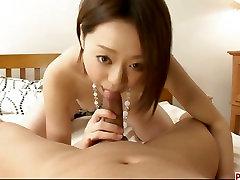 Rina Yuuki zajebal hardcore in guy bus boner težko v svojo pot