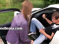 18yo suth norwayb dhea anisa banged on the car