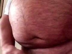 Mature bear cum shot