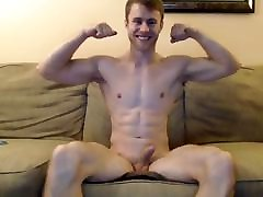 Handsome Guy luv ebonylikepng His Big White Cock and Rides A Dildo