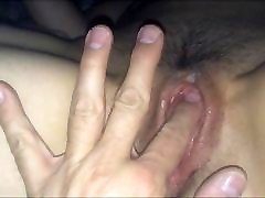 fingering wrong hole mmf new pin pack pussy of my wife nasse fotze meiner Frau