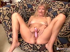 OmaGeiL Hot Old Mature strapondreamer alison Seductive Solo Play