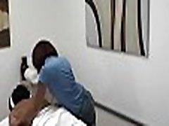 Stud seduces concupiscent masseur