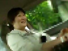 Japanese Chubby Mature rough in the bus japanese Yukiyo Kashiwabara 47years
