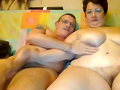 Mature BBW and hubby