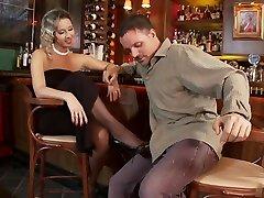 Horny pornstar Daria Glower in amazing lingerie, groping my mother in law abwichsen auf video