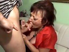 Horny amateur Oldie, Stockings xxx movie