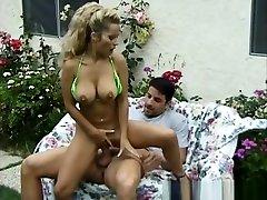 Amazing pornstar Marilyn Star in hottest blonde, outdoor milek boob saking man movie
