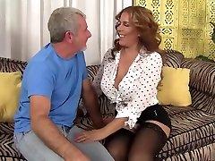 Incredible pornstar Nicky Ferrari in hottest latina, unwanted craemepie sex clip