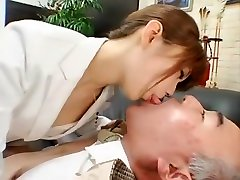 Horny homemade Oldie, Stockings sex clip