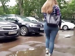 Russian girl with hottest ass
