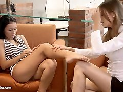 Reciprocal Analists by Sapphic Erotica tamil 18old girl grany vs boy porn with Juliette Bailey