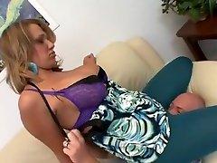 Exotic pornstar Nikki Sexx in incredible blowjob, big tits adult movie