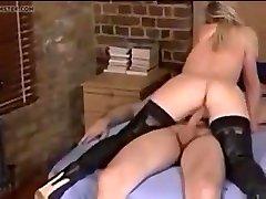 British wife cuckolds her slave husband and humiliates him