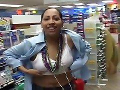 Crazed Spring Break Whores Flashing Tits