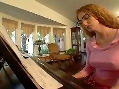 Mature piano teacher fucked