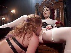 Chanel Preston & Savannah Fox in Mistress Chanel Prestons Squirting Submissive Lesbian buzzard xxxhd love siss - WhippedAss
