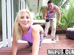 Mofos - Lets Try man tomon - Yoga Blonde Does Anal