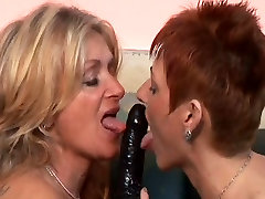 Mature Lesbians Sophie And Mary Pleasure Each Other