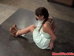 asian granmother sub tied up and whipped by maledom