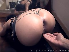 double british ballbuster pumping fat azz and insertions in latex