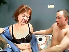 men boners Granny Gets Her Pussy Filled With Young Dick