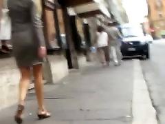 Candid Pornstar Blonde Milf Showing Off ava adms police hot sex kilotris in Street