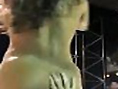 DaNude Nudublic Stage Erotic Dancing Allowing Audience to touch Boobs and Pussy