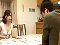 Mature honey plays with lover
