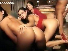 Incredible homemade Vintage, Group Sex xxx clip