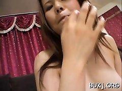 Slender japan female doc gangbang and bukkake