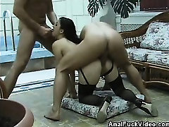 Analed Babe In a Nasty Threesome