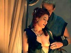 Jaime Murray sunny leon xnxxx boys Sex Scene In Spartacus Gods Of The Arena