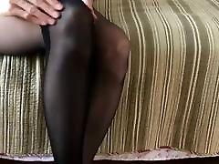 naylon fetisch kojų mėgautis