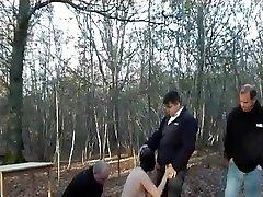 पत्नी, जंगल, पूर्ण रबर Hooded